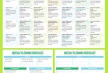 hygine und cleaning checklists