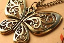 Butterfly necklases