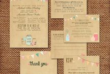 Wedding - Faire Part & Save the date