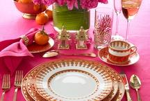Hospitable Hospitality / Entertaining, Tablescapes, Dinnerware, Indoors and Al Fresco / by Deborah G.