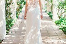 wedding - dress/hair/shoes