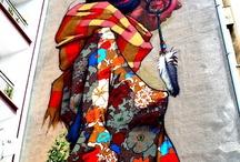 Murale / Malowane na ścianie, Murale w Łodzi