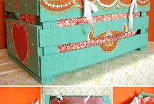 Muebles de madera reciclada