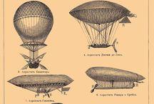 [Hot air balloon wall art]