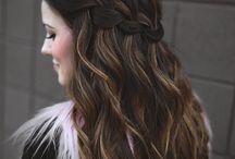 Cheveux bal