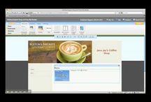 How to make a website business.