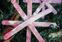 HOLIDAYS -- Christmas Kid Crafts
