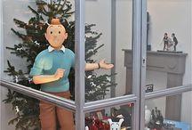 Tintin et Milou Noel