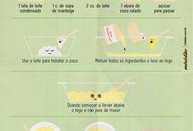 Receitas Ilustradas / Receitas Ilustradas do site mixidao.com.br