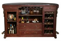 Home Bar Ideas / Thinking of adding a home bar? Start at Casual Dining & Bar Stools!