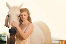 Posing: Girl + Horse