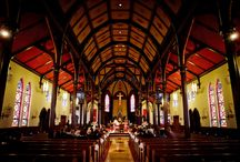 """Awesome Houses of Worship! / There are just some churches, synagogues and temples that just outshine the others.... Here are some of our favorite Wedding """"Houses of Worship""""!"""