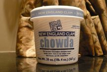 Seafood Chowders / The perfect appetizer to compliment your fresh seafood event.