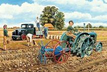 Vintage Farm Posters