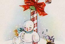 4 F Fimo and fondant: Christmas