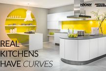 Our Extraordinary Kitchen Designs / As the hub of the home, the kitchen is the room with all the action. It's not just the place to prepare and cook food — it's also used for entertaining guests, storing gadgets and eating family meals.  Here are some of our stylish kitchen designs