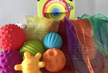 Montessori Inspired Treasure Baskets