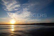 St. Michaels Mount, Cornwall / A few shots from Cornwall. Taken at dusk on Marazion Beach.