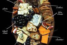 Peynir tabağı sunum