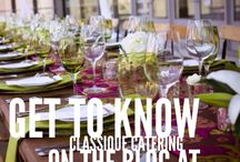 Featured Partner: Classique Catering / Do you want to lean more about Classique Catering? Head over to the blog NOW - http://www.realweddingsmag.com/featured-partner-classique-catering/