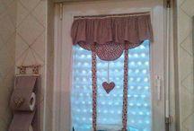 Varrott romantikus  függöny