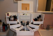 Makeup Brush Organizer / Organize your makeup brushes