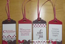 PUNCH SCALLOPED TAG TOPPER