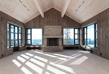 Inspiration for the mountain lodge
