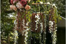 Garden fairy boho wedding