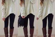 Moje svetříky a co k nim nosit