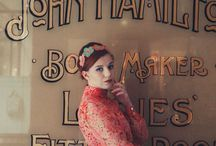 My 60s style fashion shoot