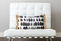 NFID: SHOP / Photos of interior home decor products designed & sold by Natalie Fuglestveit Interior Design out of Canada.