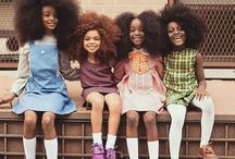 Afro Hairstyles kids