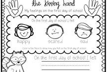 1st week kindergarten