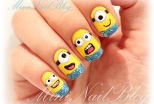Nail Art / Interesting nail art and just plain o' fun ideas. / by Judine Pottmeyer