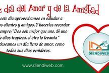 Fechas Especiales / ¡Feliz día del amor y la Amistad! #sanvalentin