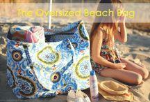 Sewing beach bag