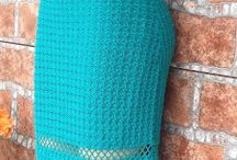 vestidos de croche e tricoVestidos De Crochê