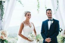 entrée mariés