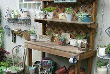 potting bench vingrette