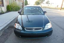 Used 1998 Honda Civic for Sale ($2,050) at Paterson, NJ / Make:  Honda, Model:  Civic, Year:  1998, Body Style:  Tractor, Exterior Color: Green, Vehicle Condition: Excellent, Mileage:198,000 mi,  Engine: 4Cylinder L4, 1.6L; SOHC; MFI, Fuel: Gasoline Hybrid, Transmission: Automatic.    Contact: 973-925-5626    Car Id (56667)