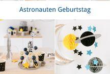 Astronautengeburtstag
