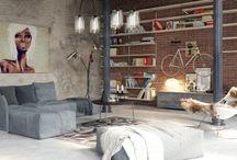 Loft Inspiration / Lover Mills Lofts