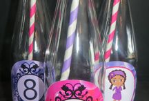 Spa Pamper Party / Party Decor and Sweet Treats for a Spa Pamper Party