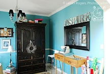 If I had a craft room / by Mandy Deming
