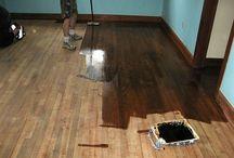 Wood floors - refinishing