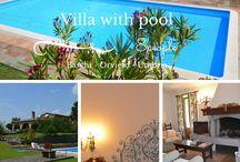 Villas & holiday homes in Umbria
