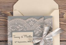 Wedding Invitations / ideas for printed wedding invites