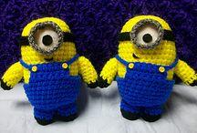 Minions crochet pattern