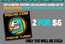 POCHO Merchandise / by Pocho.com